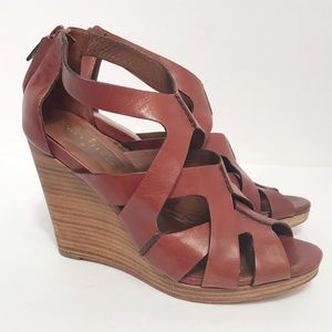 Cole Haan • Women's Wedge Heel Sandal Size 9.5B